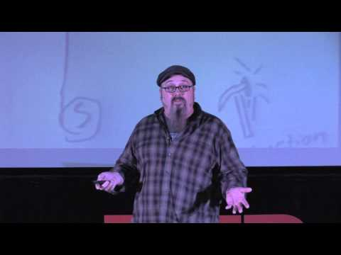 Art/Outdoor education: Allen Bartell at TEDxSFA