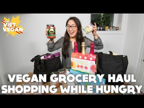 Grocery Haul After Shopping While Hungry