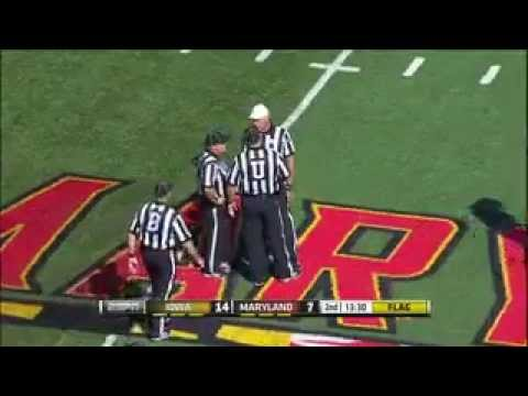 Maryland Recovers Fumble But With A Price
