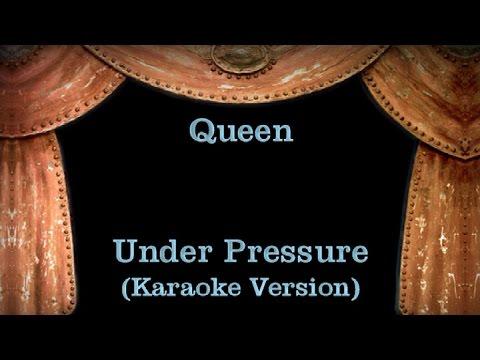 Queen - Under Pressure - Lyrics (Karaoke Version)