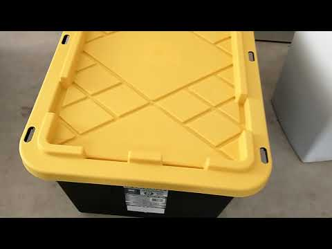 Cheap Hdx Storage Bins Parts Containers From Home Depot Are They A Good Buy Youtube