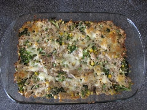 Easy Chicken Casserole Recipe - Chicken Broccoli Casserole Recipe