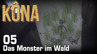 KONA [05] [Das Monster im Wald] [Twitch Gameplay Let's Play Deutsch German] thumbnail