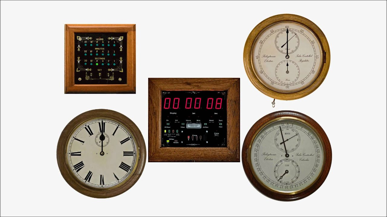 Master Clock System With Slaves