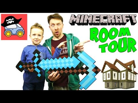❗️ МАЙНКРАФТ РУМ ТУР строим дом в 7 ЭТАЖЕЙ Minecraft как телепортироваться домой Жестянка