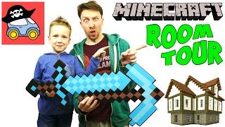 МАЙНКРАФТ РУМ ТУР строим дом в 7 ЭТАЖЕЙ Minecraft как телепортироваться домой Жестянка