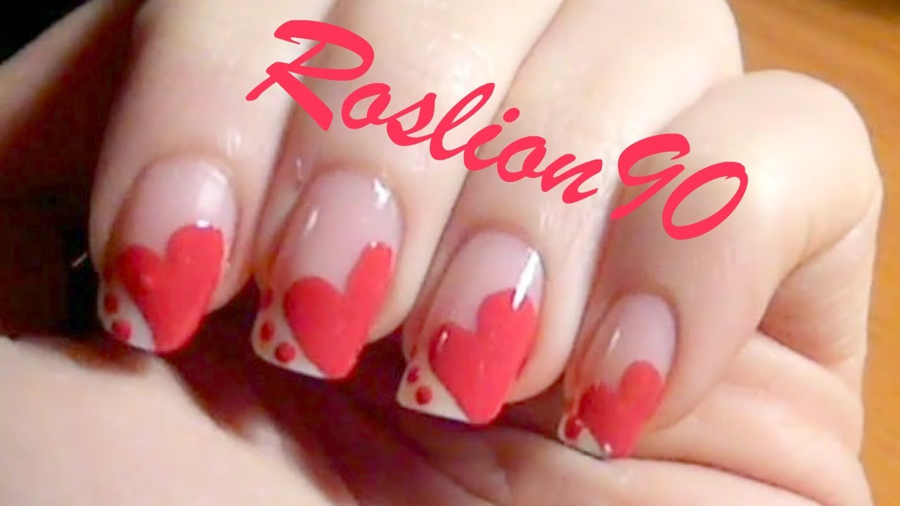 valentine's day nails san valentino