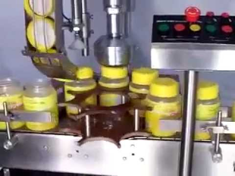 Single Head Screw Capping machine for Ghee Jar from MULTIPACK