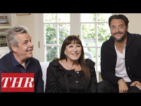 Anjelica, Danny & Jack Huston on Their
