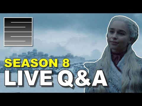 Game Of Thrones Season 8 Teaser Trailer Discussion - Live Q&A!