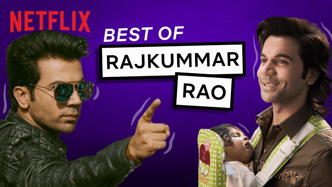 Rajkummar Rao BEST Scenes   Ludo, Stree, Queen, Bareily Ki Barfi & More!   Netflix India