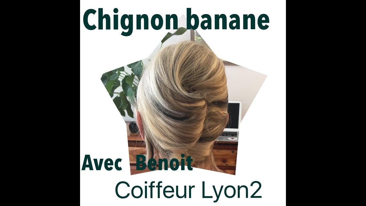 Tuto chignon banane tout âge made in Benoit Pennacoiff Lyon2 - YouTube