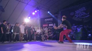 Metro Groover ( Thailand )  VS   S.I.N.E ( Vietnam ) FINAL Battle of the year 2013 south asia