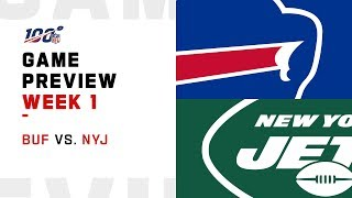 Buffalo Bills vs. New York Jets | Week 1 Game Preview | Move the Sticks