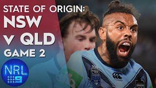 State of Origin Highlights: NSW v QLD - Game II | NRL on Nine