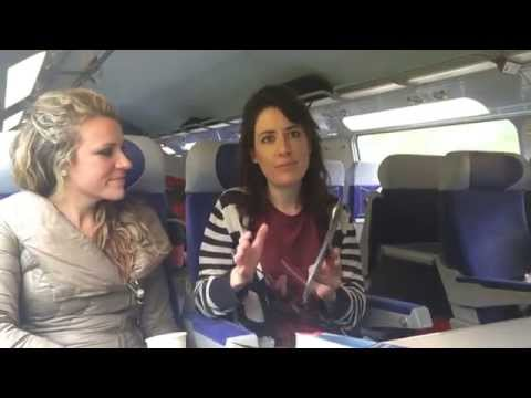 Travel Chicks TV: Paris to Aix en Provence -  TGV Train Tracks and Cappuccinos
