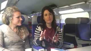 Travel Chicks TV: Paris to Aix en Provence -  TGV Train Tracks and Cappuccinos