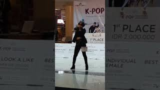 180923 (debut) audrey ; red velvet - bad boy [k-pop dance cover competition bandung]