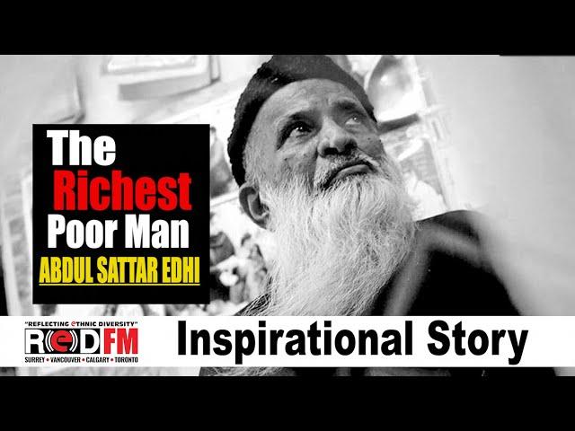The unknown story of the greatest humanitarian of Pakistan, Adbul Sattar Edhi