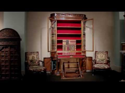 Victorian Oak Display Cabinet