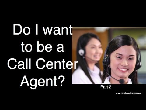 Do I Want to be a Call Centre Agent? Part 2