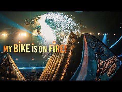 ARENA-SHOW in BERLIN - BIKE on FIRE!