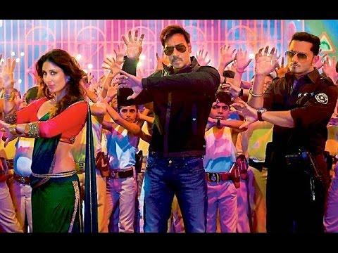 Kareena Kapoor & Ajay Devgan talk on Yo Yo Honey Singh song Aata Majhi Satakli | Singham Returns