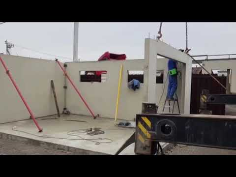 Сборный железобетонный гараж