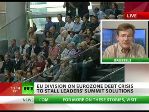 Build up to EURO COLLAPSE: No DEBT sharing in Europe Italy and Spain do not welcome this NEWS