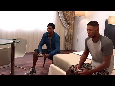 NBA 2K17 PS4 MyCareer - Denver Friendship Growing! The Warriors!