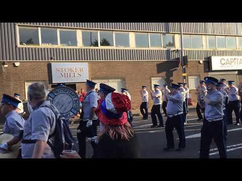 EBPB @ 12th July 2017 return parade