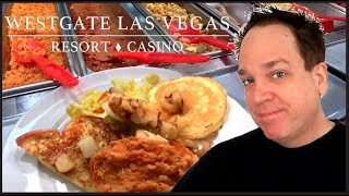 Westgate Las Vegas Buffet - Best Breakfast Buffet for Lunch!