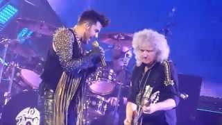 Queen + Adam Lambert - Don't Stop Me Now (Live - Phones 4u Arena, Manchester, UK, Jan 2015)