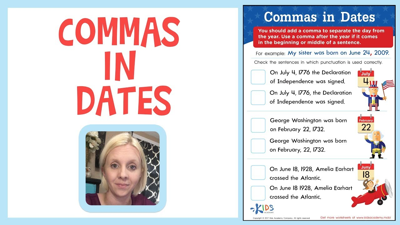 Do you put a comma after a date at the beginning of a sentence