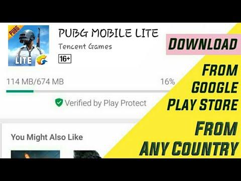 google play store pubg mobile lite