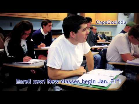 Cape Cod Community College Web and TV Infomercial