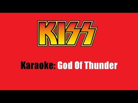 Karaoke: Kiss / God Of Thunder