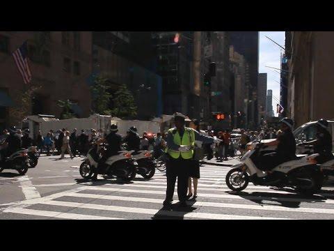 Inside NYPD's massive security effort to protect Pope Francis and U.N.