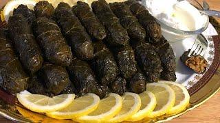 Новогоднее меню: Армянская Толма в виноградных листьях | Թուփով տոլմա | Stuffed Grape Leaves Tolma