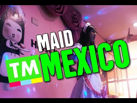 INSIDE a Japanese MAID Café | Mexico City