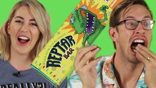 We Tried Rugrat's Reptar Bars