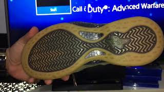 brand new a56eb 29832 Review   Unboxing   Fake Spot Nike Air Foamposite One Premium Olive (  Indonesia ) ...