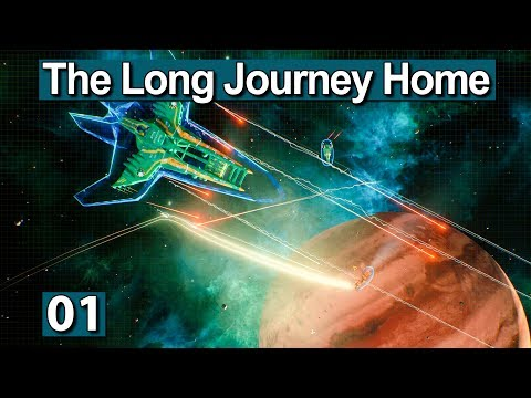THE LONG JOURNEY HOME ► FTL meets Stargate Universe Gameplay deutsch Preview