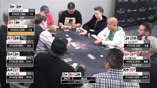 table does an 8 way 100 blind flip live at the bike hand of the night