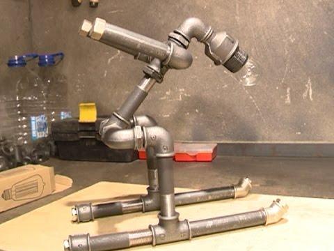 В Вологде научились делать мебель из водопроводных труб