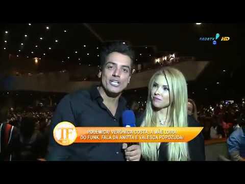'Mãe Loira Do Funk' Revela Paixão Por Valesca - TV Fama 01/05/2014