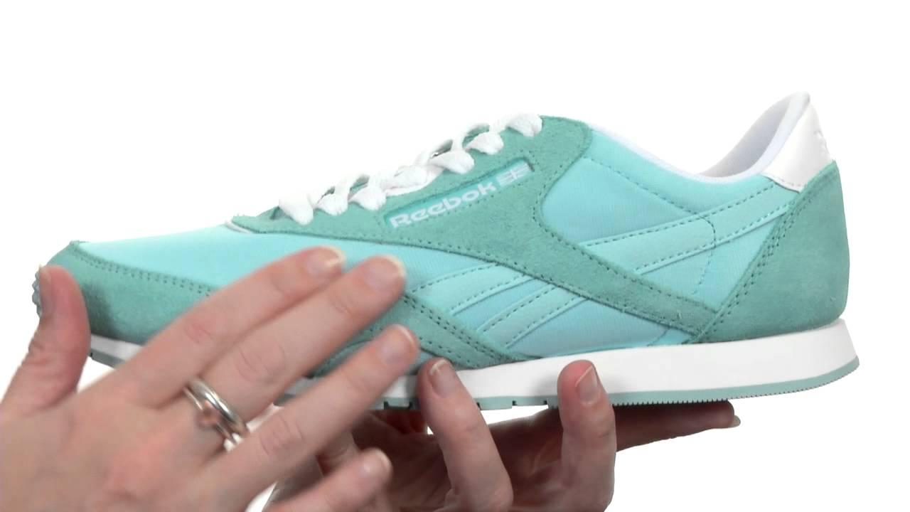 8c33506607582 reebok classic nylon slim colors sneaker