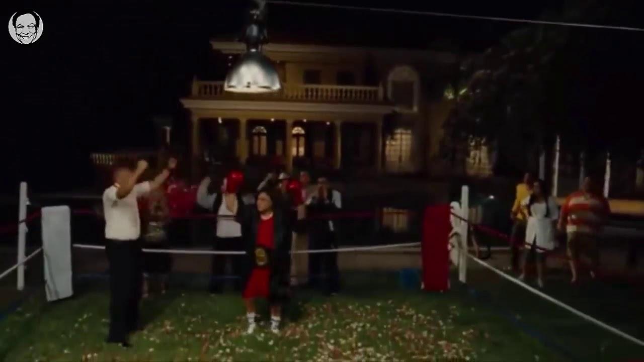 مشهد الملاكمة من فيلم زهايمر هتموت من الضحك Youtube