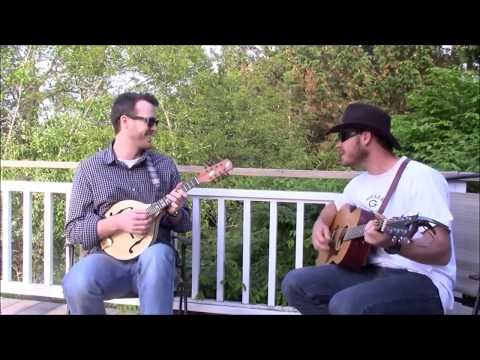 Zac Brown & James Brown picking on the porch