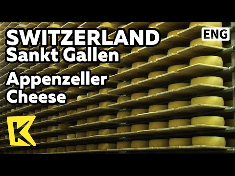 【K】Switzerland Travel-Sankt Gallen[스위스 여행-장크트갈렌]스위스 3대 치즈 아펜첼러 치즈/Appenzeller/Cheese/Olma